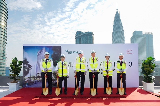 Menara Hap Seng 3 On Track For Opening By Year-End