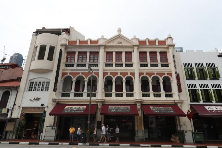 Iconic Eu Yan Sang Building in Chinatown up for sale