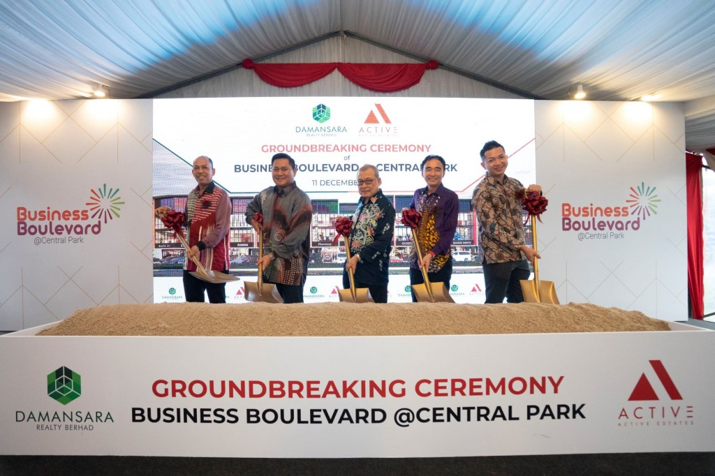 Damansara Realty Unveils Business Boulevard @ Central Park