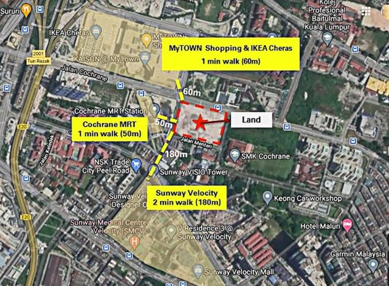 (English) Sunway eyeing to launch mixed development of at least RM1.15b on Cochrane land